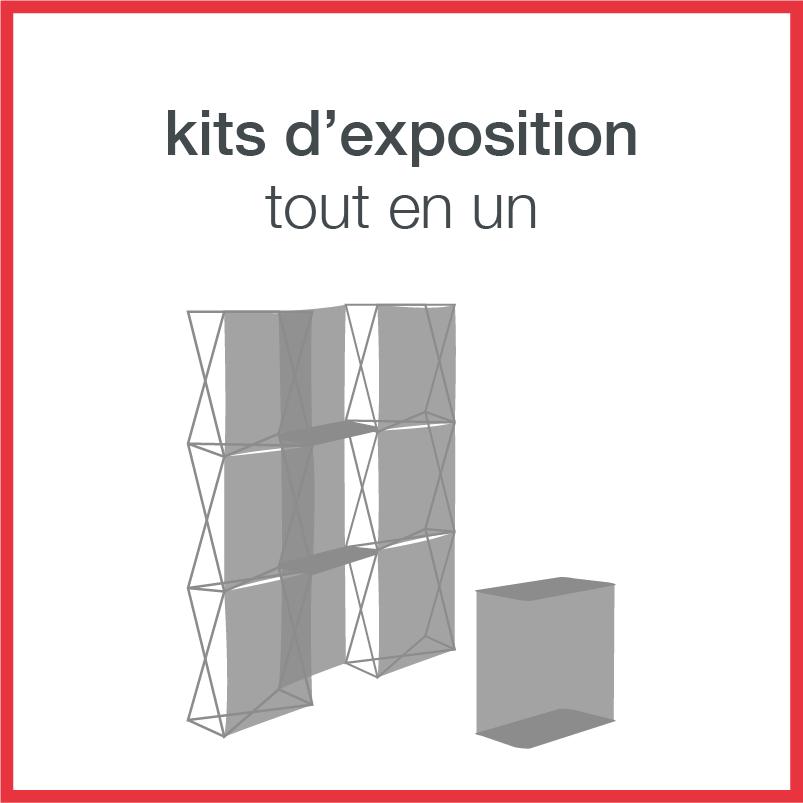 kits d'exposition tout en un