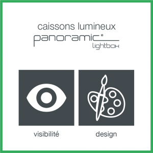 caissons lumineux