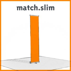 match.slim Display
