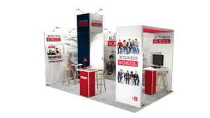 Exemple 24m² stand modulaire