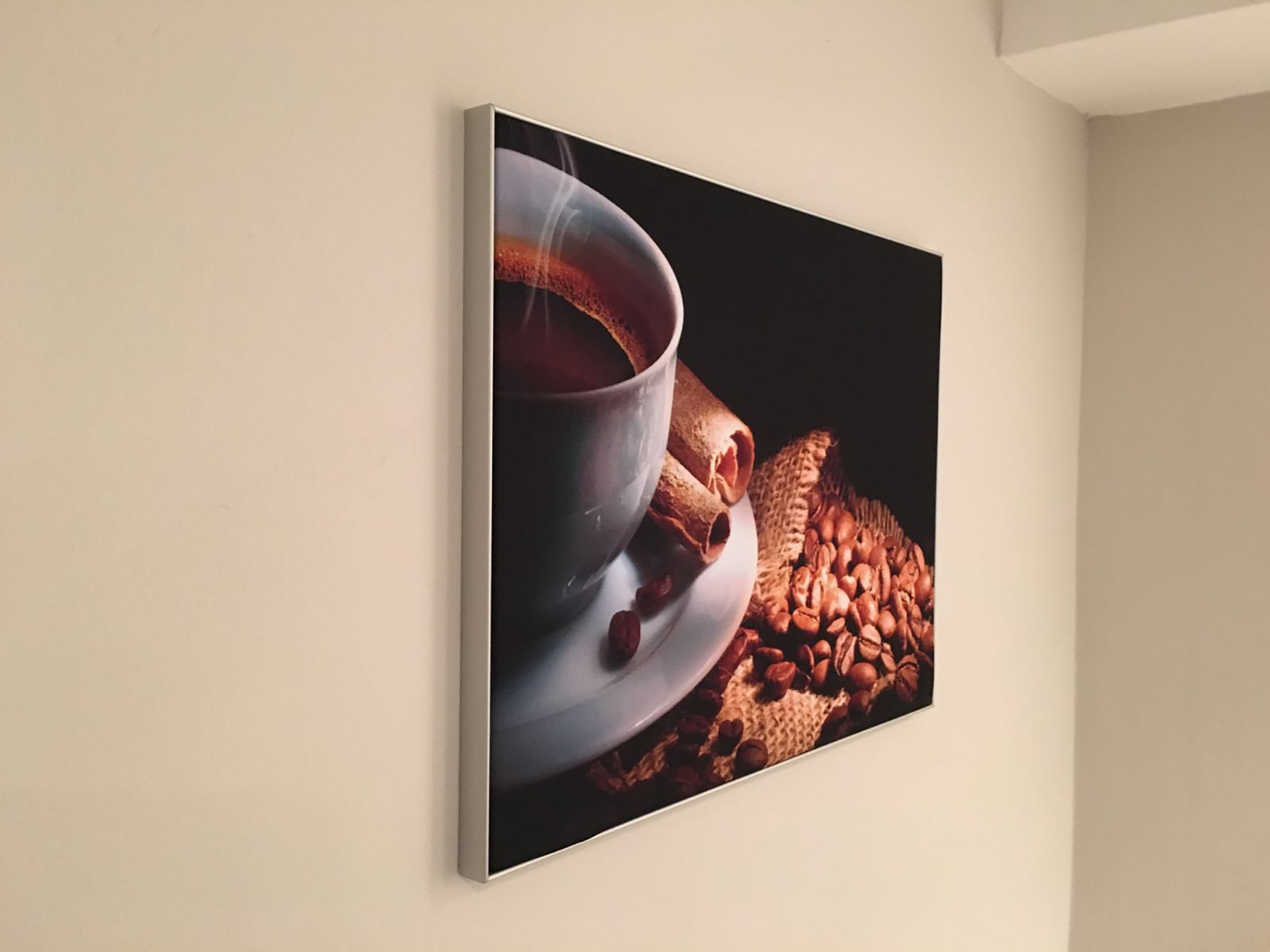 """Café"" wall frame"