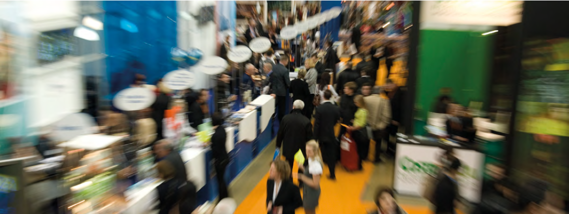 Four reasons to attend a trade show