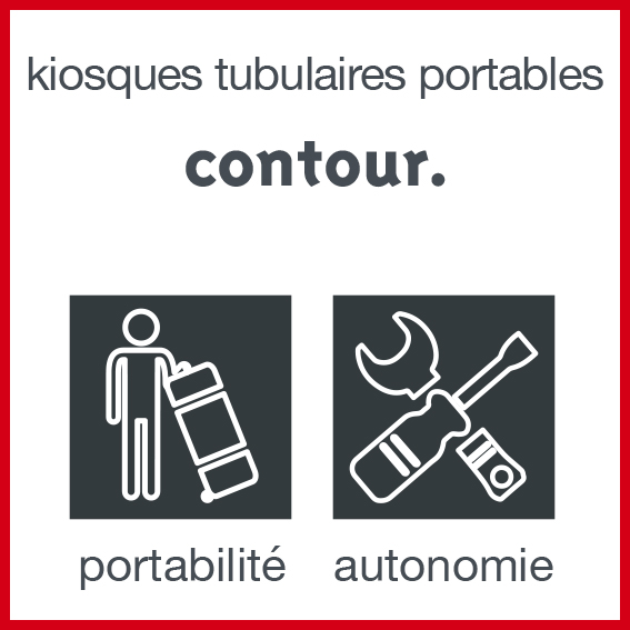 kiosque tubulaire
