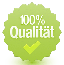 Qualitätskontrolle: 100% der Standstrukturen werden von unseren Experten geprüft.