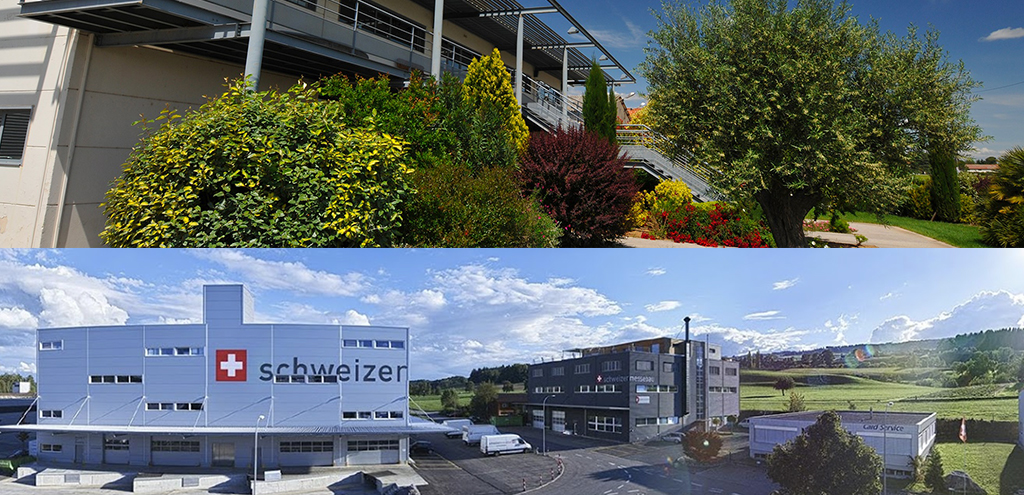 Duo creates a partnership with Schweizermessebau
