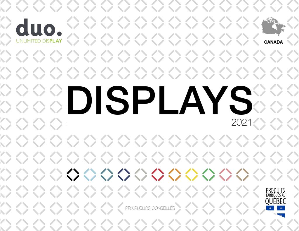 Catalogue Displays