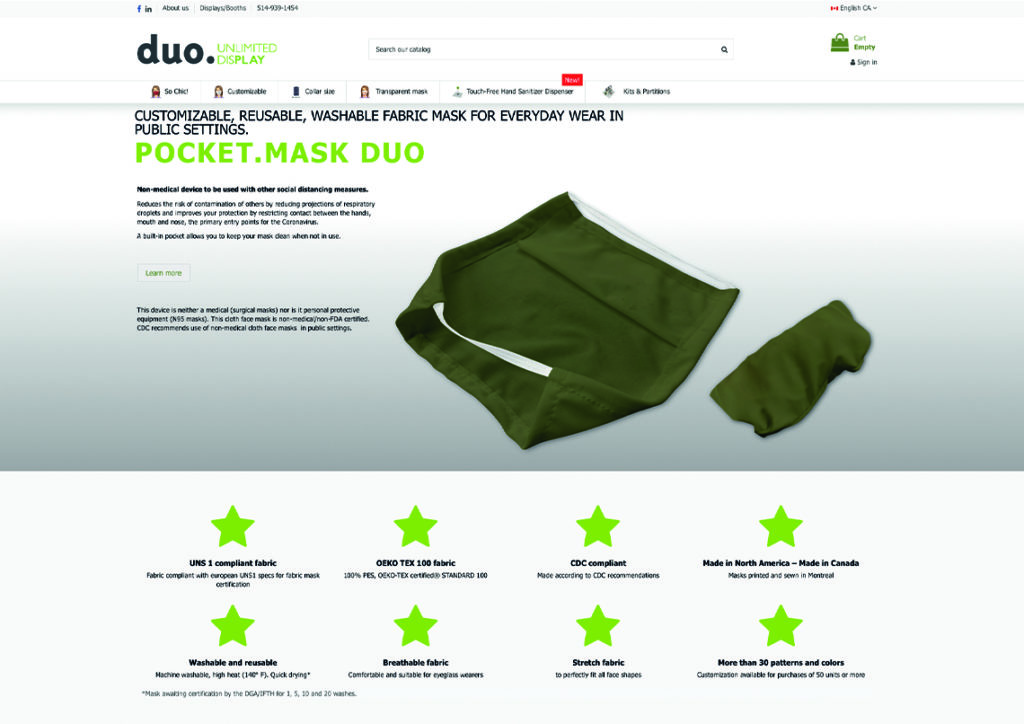 Protective Fabric Masks