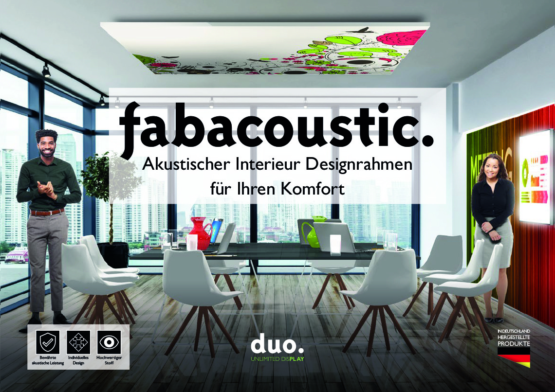Broschüre fabacoustic