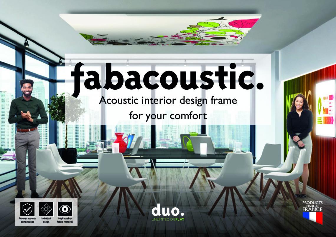fabacoustic brochure