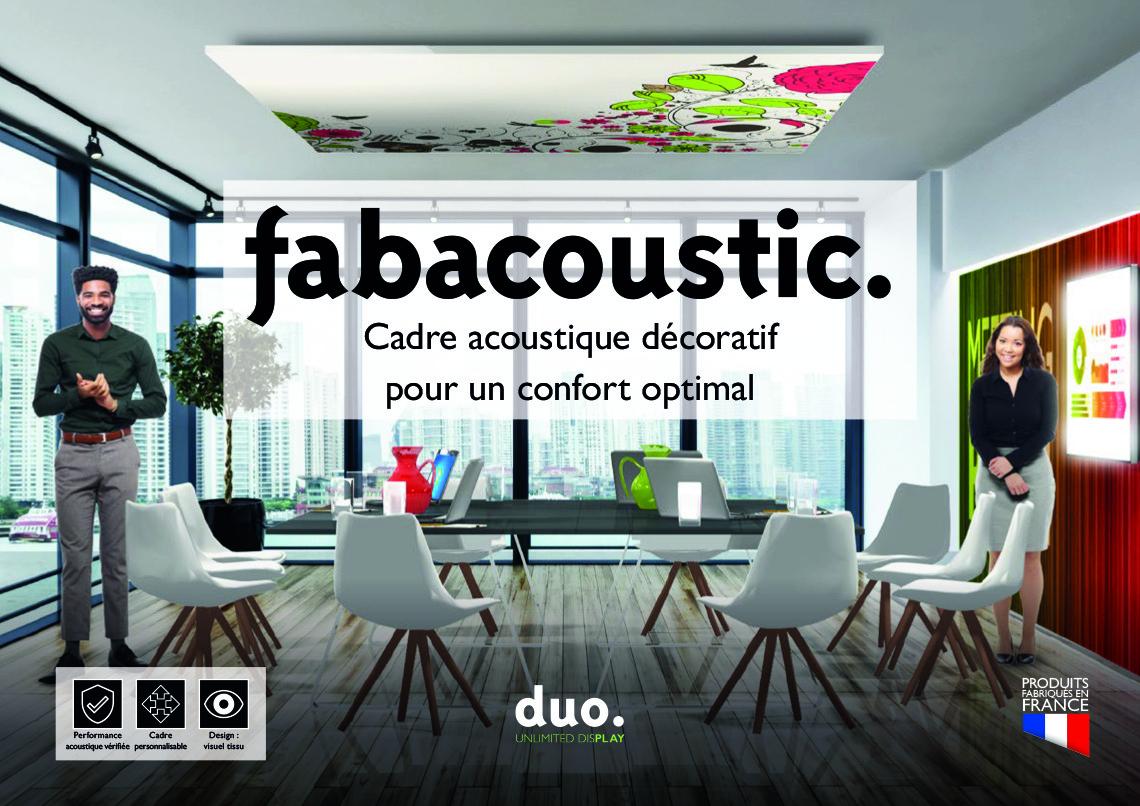 Brochure fabacoustic